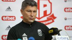 Балъков: Държим да налагаме млади бълграски футболисти