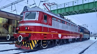 БДЖ се похвали с нов локомотив