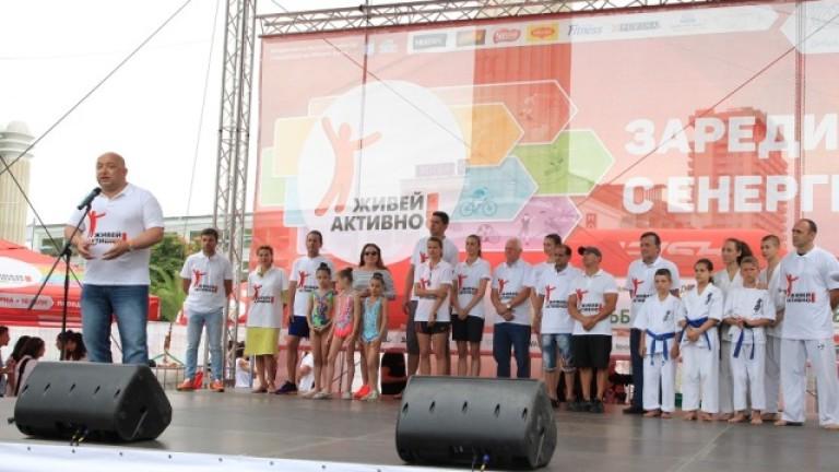 Министърът на младежта и спорта Красен Кралев беше гост на