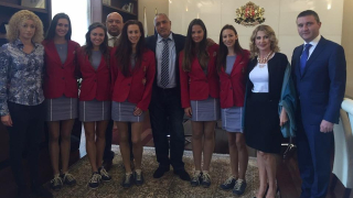 """""""Златните момичета"""" към премиера Бойко Борисов: Никога няма да забравим Вашата подкрепа!"""
