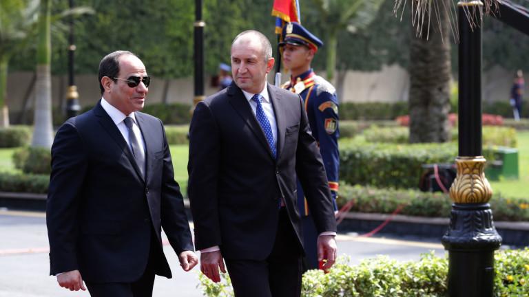 България и Египет са близо до регион, обхванат от продължителна