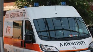 Жена пострада тежко при пожар в дома си в Кочериново