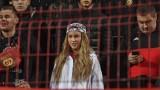 Гери-Никол отново посети мач на ЦСКА