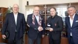 Министър Кралев се срещна с Франко Барези