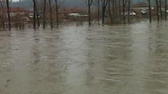 Критично е нивото на река Русенски Лом