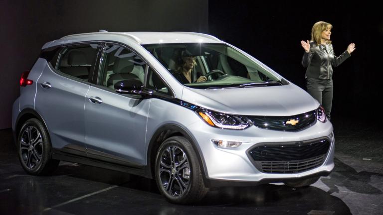 GM вика в сервиз 69 000 електромобила Chevrolet Bolt