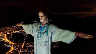 Как Бразилия благодари на лекарите по света