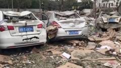 Двама загинали и 30 ранени при експлозия в китайски град