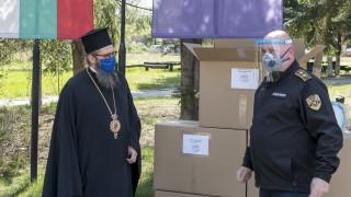 Жандармерията получи 800 шлема дарение от БПЦ и Софийската митрополия