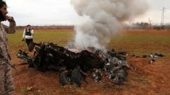 Турция свали два сирийски самолета в Идлиб