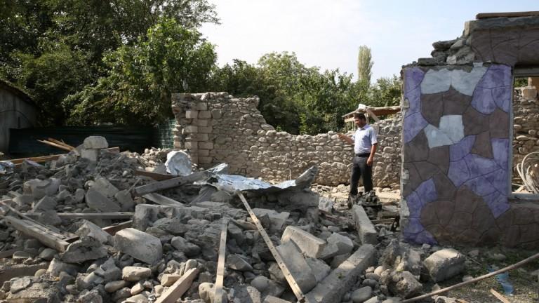 Мина рани руски миротворец в Нагорни Карабах