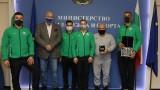 Министър Кралев награди европейския вицешампион по джудо Ивайло Иванов