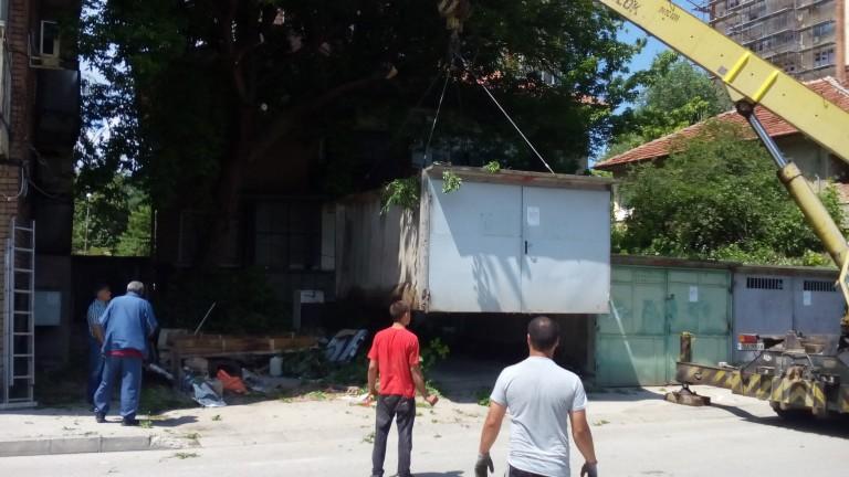 Община Ловеч срещу незаконните гаражни клетки