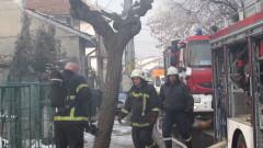 Пожар остави без дом семейство с 11 деца в Русе