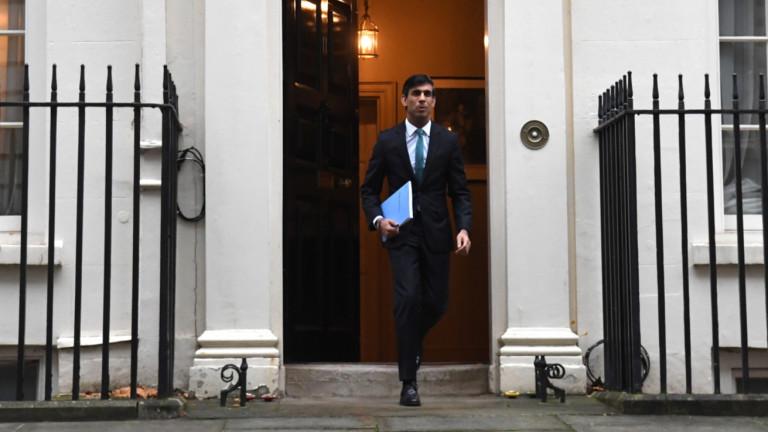 """Британската икономика пада с 11,3% тази година, рекорд от """"Големия студ"""" на 1709 г."""