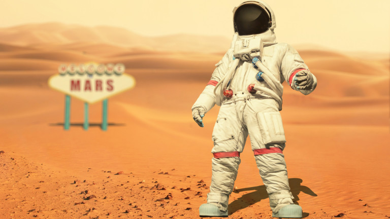 Плановете на NASA за строителството на Марс - с пот, кръв и сълзи