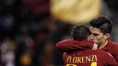 Рома спечели домакинството си на Сасуоло с 3:1