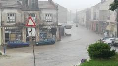 Проливен дъжд наводни Ивайловград