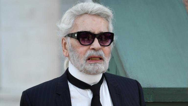 Дизайнерът Карл Лагерфелде починал днес, 19 февруари, на 85-годишна възраст.
