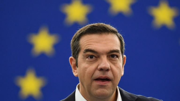 Гръцият премиер Алексис Ципрас постигна политическа победа преди изборите, които