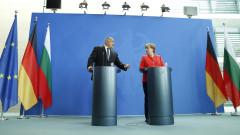 Можете да разчитате на България, пише Борисов до Меркел