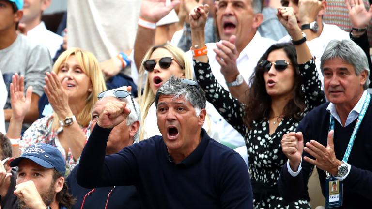 Чичото на световния №1 в мъжкия тенис Рафаел Надал -