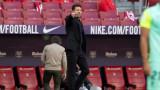 Диего Симеоне не беше побеждавал Барселона в 18 мача от Ла Лига