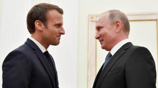 Франция уличи Кремъл, че изопачава на думите на Макрон