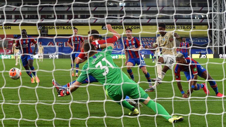 Манчестър Юнайтед постигна много трудна победа като гост над Кристъл