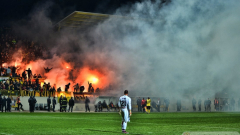 Масов бой между фенове на Ботев и Партизани