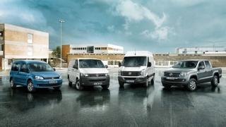 Лекотоварните VW с ръст от 9% от началото на годината