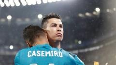 Каземиро: Роналдо е най-добрият, разбира се, че липсва на Реал (Мадрид)