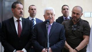 Казусът за Йерусалим ме вкара в болницата, оплака се Абас