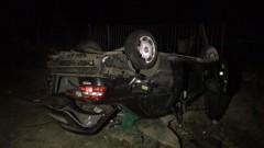Катастрофа в с. Габарево прати бременна жена в болница