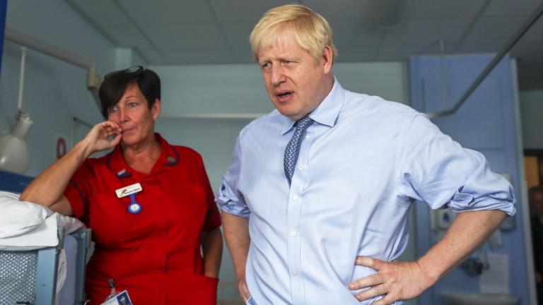 Снимка: Борис Джонсън зове Германия и Франция за компромис относно Брекзит