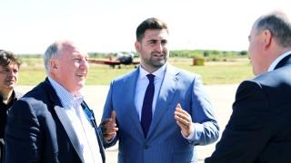 Андрей Новаков заведе потенциални инвеститори на летището в Русе