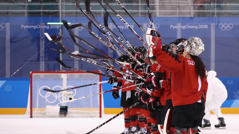 Канада демонстрира защо отново е фаворит за златните медали