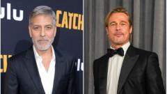 Джордж Клуни е луд по Брад Пит