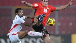 Египет трудно на 1/2-финал след 2:1 срещу Ангола