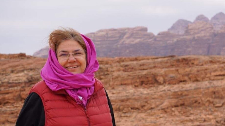 Снимка: Какви ги вършат Марта Вачкова и Владо Пенев в Йордания