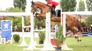 Катя Дунева - с поредно участие на конен турнир