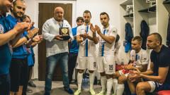 """Министър Кралев подкрепи """"Варна Сити"""" в първата му среща от Шампионската лига по футзал"""