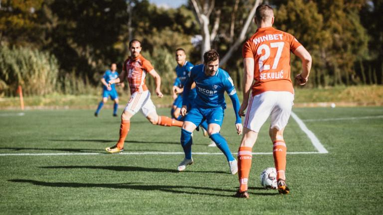 ЦСКА стартира с равенство контролните си срещи в испанския курорт