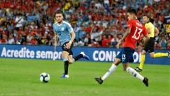 """Уругвай пречупи Чили в Група """"С"""" на Копа Америка"""