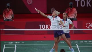 Сестри Стоеви приключиха участието си в Токио с победа
