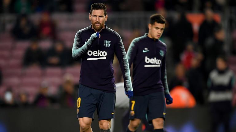 Барселона 2 : 0 Леванте 31′ ГОООЛ ЗА БАРСЕЛОНА!!! 2:0!!!