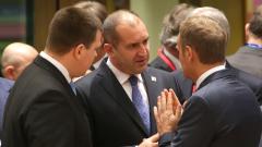 Радев търси съдействие от Брюксел за разрешаване на кризата в Македония