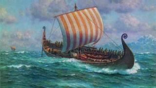 Паркинг на кръчма крие викингска ладия