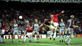 """Сезон 1998/99: Две """"златни"""" резерви превърнаха финала в легенда и закараха купата на """"Олд Трафорд"""" (ВИДЕО)"""