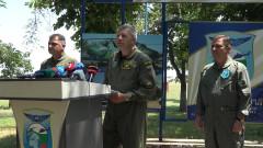 Военните ни пилоти летят 10 пъти по-малко в сравнение с колегите си от НАТО